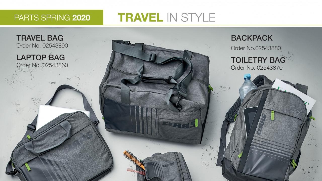 CLAAS TRAVEL BAG