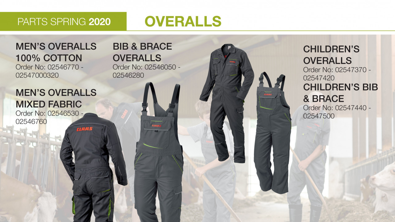 CLAAS OVERALLS
