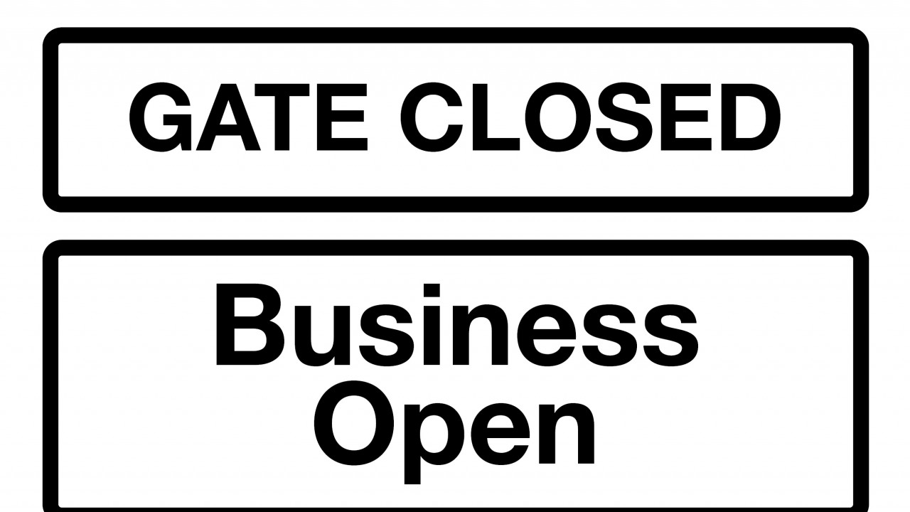 Business is open