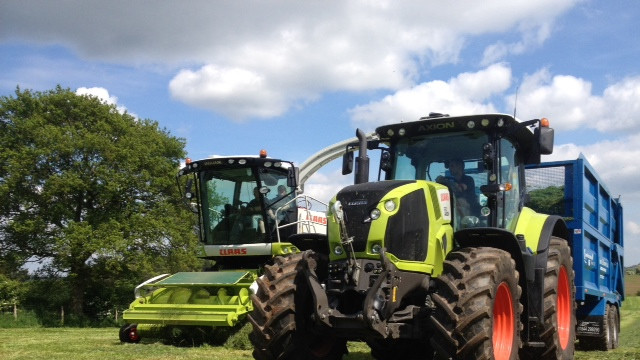 Jaguar and CLAAS